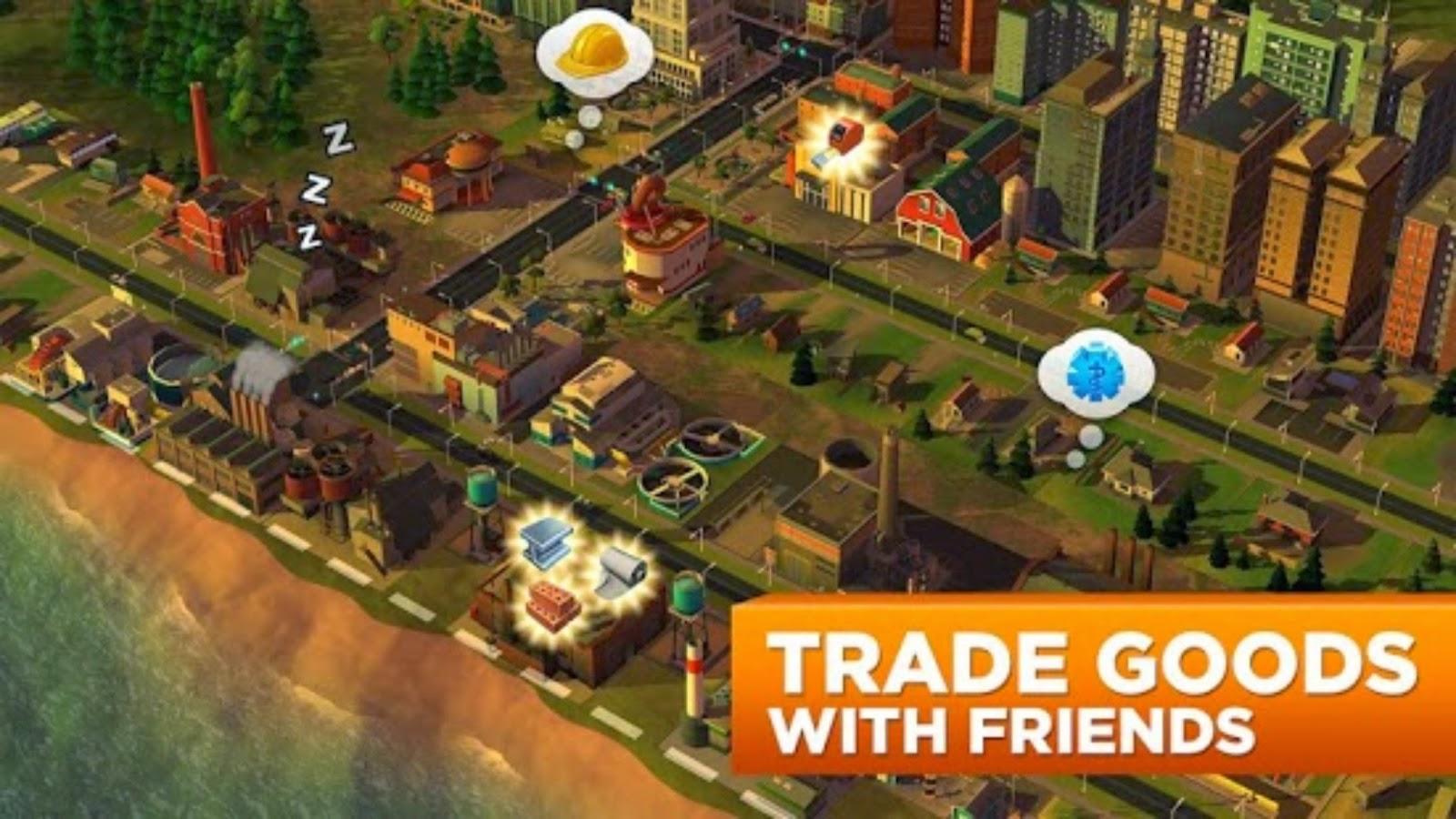 simcity mod apk offline game download